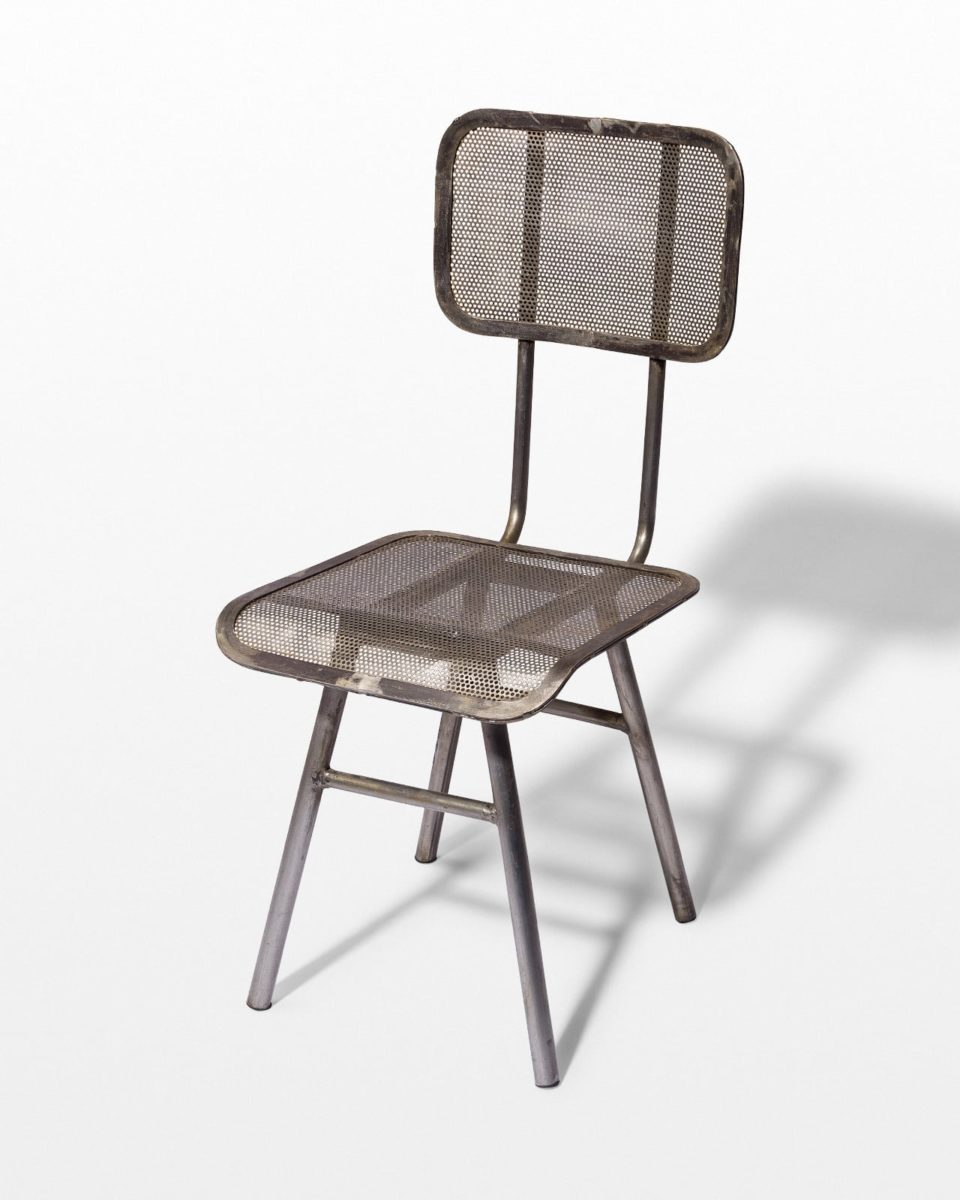 Front view of Rapaz Metal Mesh Chair