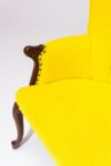 Alternate view thumbnail 1 of Layla Yellow Armchair
