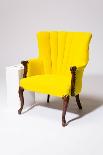 Alternate view 2 of Layla Yellow Armchair