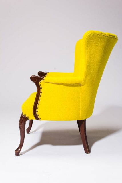 Alternate view 3 of Layla Yellow Armchair