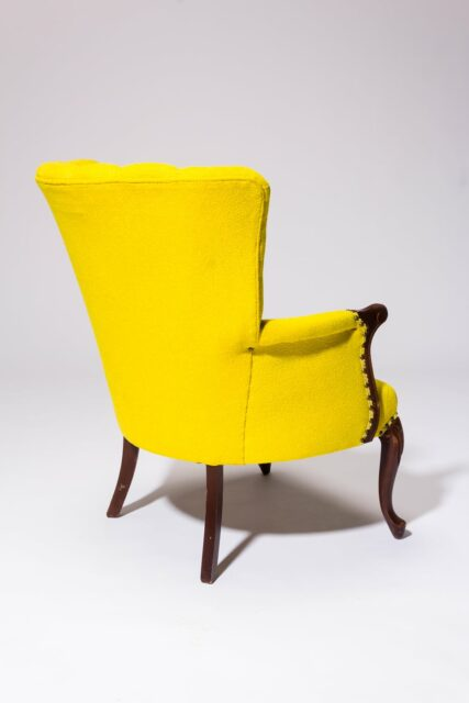 Alternate view 4 of Layla Yellow Armchair