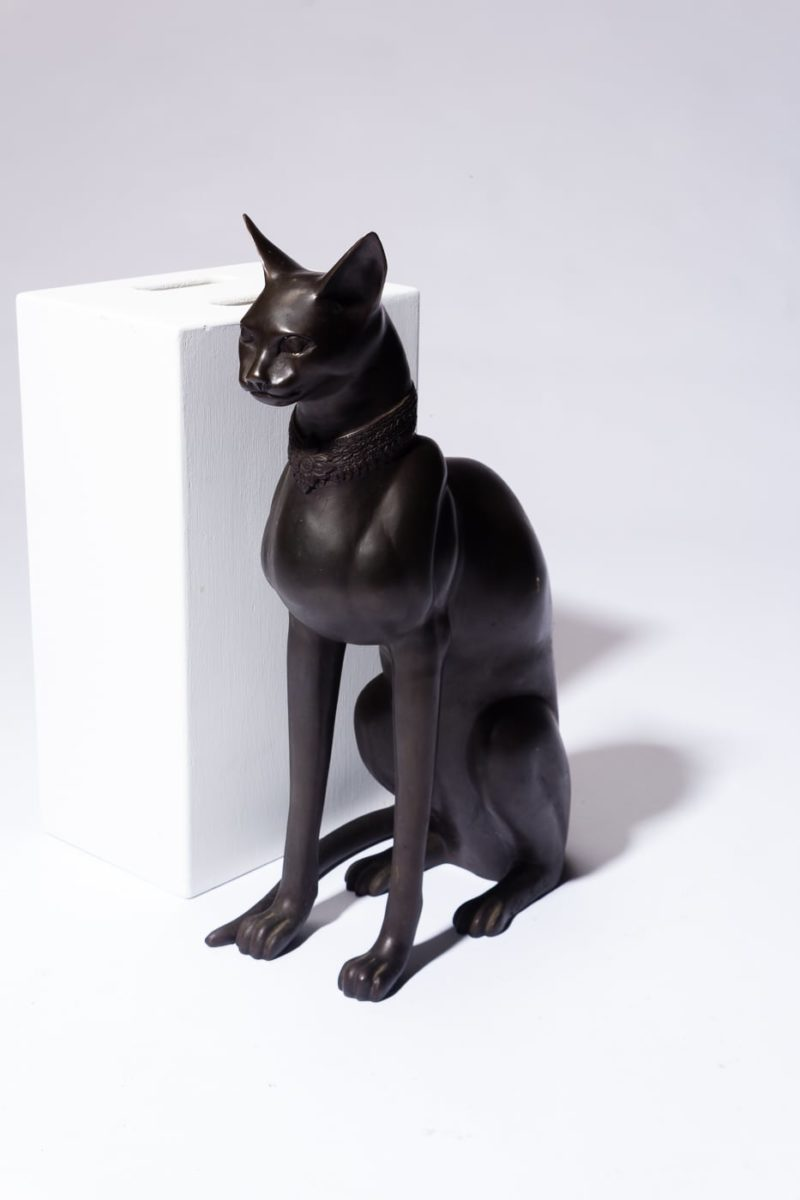 Alternate view 1 of Rocco Metal Cat Sculpture
