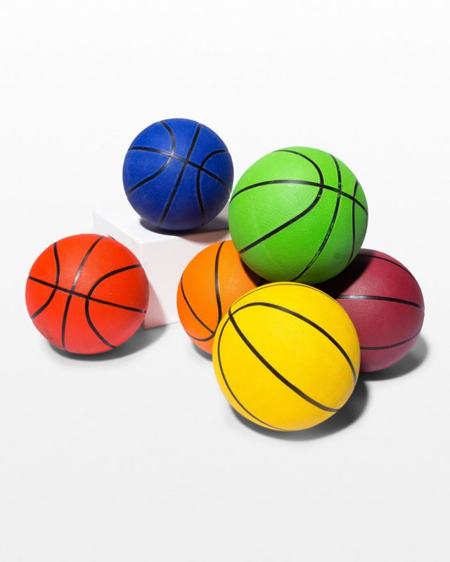 Front view of Magic Multicolor Brandless Basketball Set