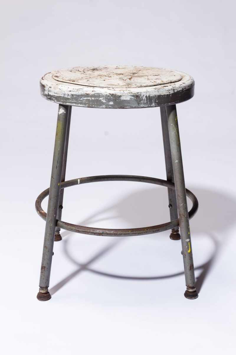 Alternate view 3 of Alca Distresed Low Stool