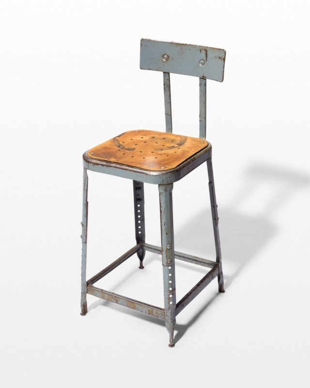 Front view of Bulla Industrial Stool