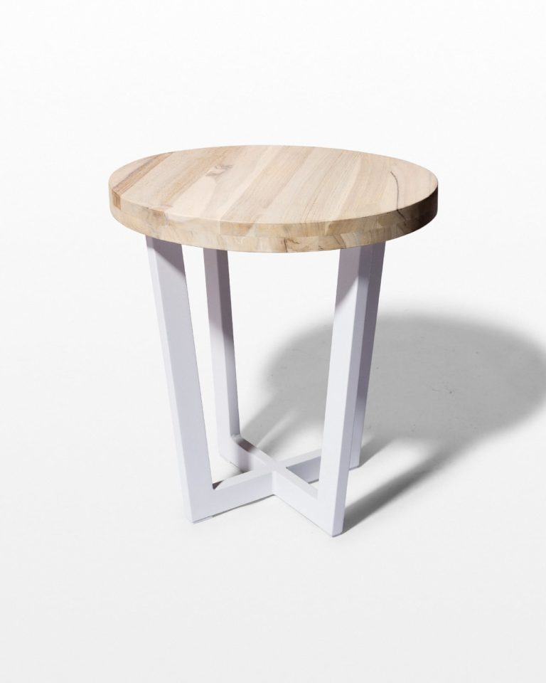 Front view of Gloria Side Table