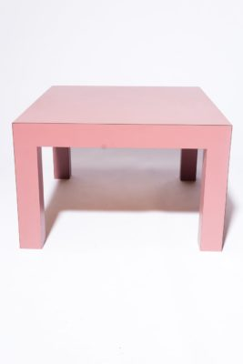 "Alternate view 2 of Cali 15"" Pink Laminate Table"