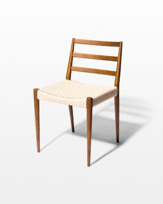 Front view of Magnus Woven Cord Chair
