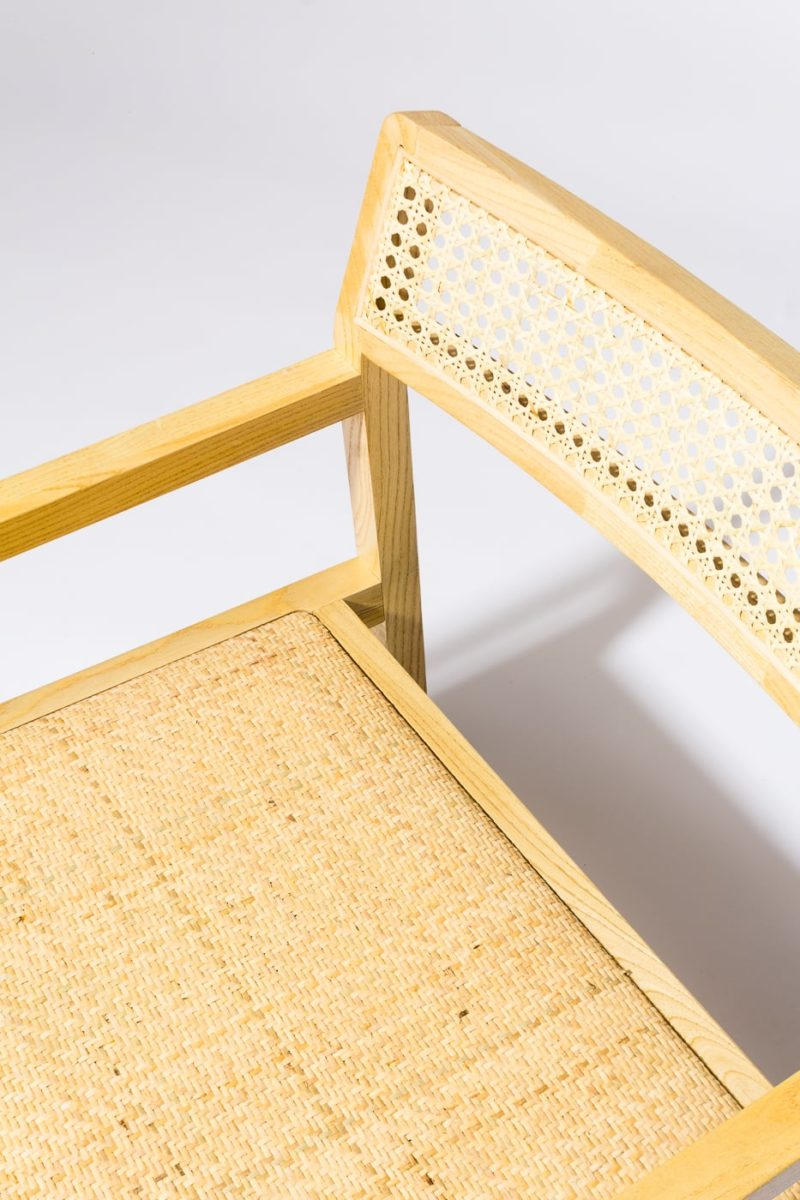 Alternate view 2 of Ellery Natural Caned Chair