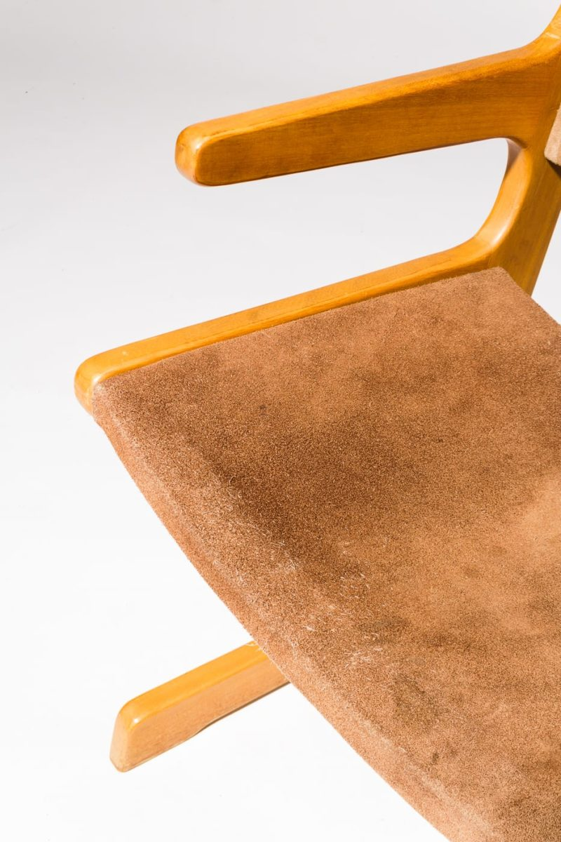 Alternate view 1 of Supply Suede Chair