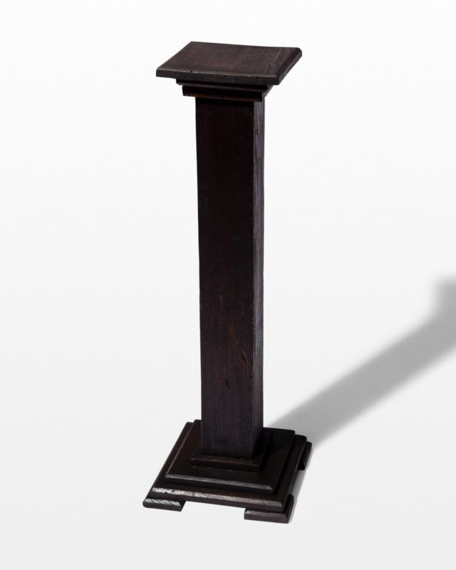 Front view of Turner Pedestal