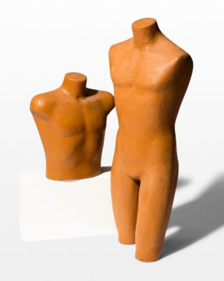 Front view of Cad Molded Torso and Chest Pair