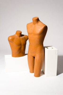 Alternate view 2 of Cad Molded Torso and Chest Pair