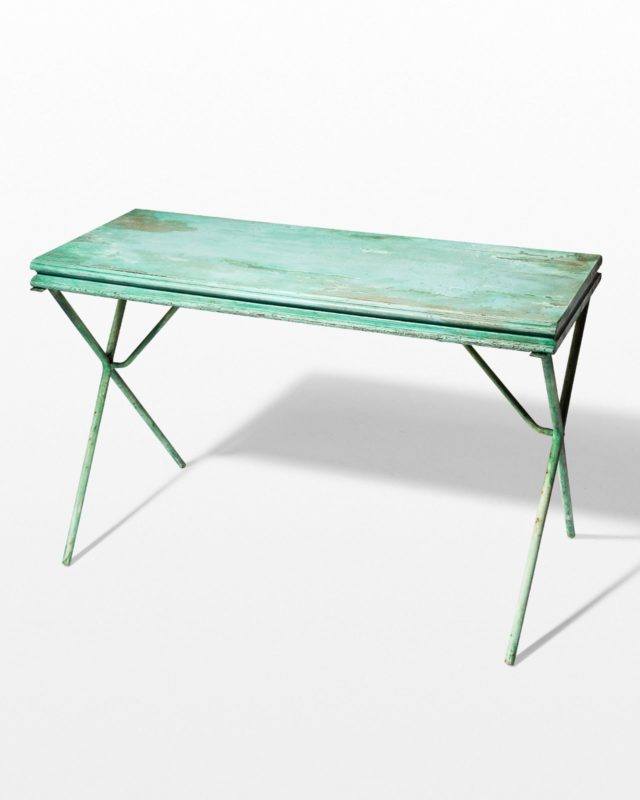 Front view of Hooter Distressed Table