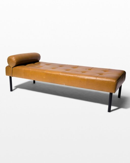 Front view of Walker Daybed Bench