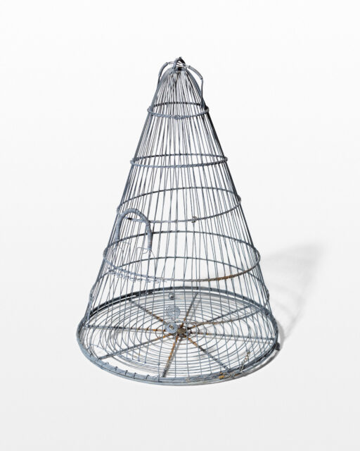 Front view of Point Tapered Birdcage
