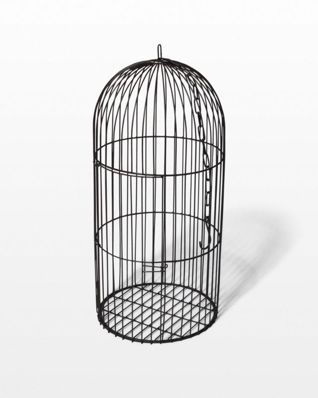 "Front view of Ivy 30"" Birdcage"