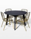 Front view thumbnail of Marcy and Auden Dining Set