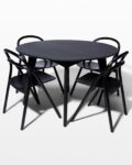 Front view thumbnail of Lorne and Auden Dining Set