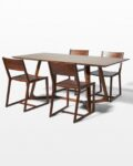 Front view thumbnail of Axis and Fellini Dining Set