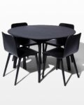 Front view thumbnail of Aria and Auden Dining Set