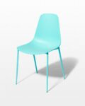 Front view thumbnail of Drea Turquoise Chair