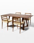 Front view thumbnail of Axis and Magnus Dining Set (4 Chairs)