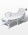 Front view thumbnail of Indio Rattan Chaise Lounge