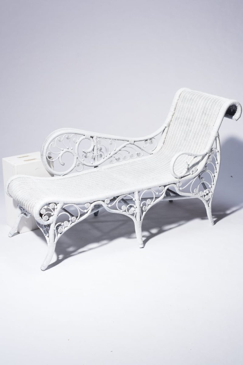 Alternate view 4 of Indio Rattan Chaise Lounge
