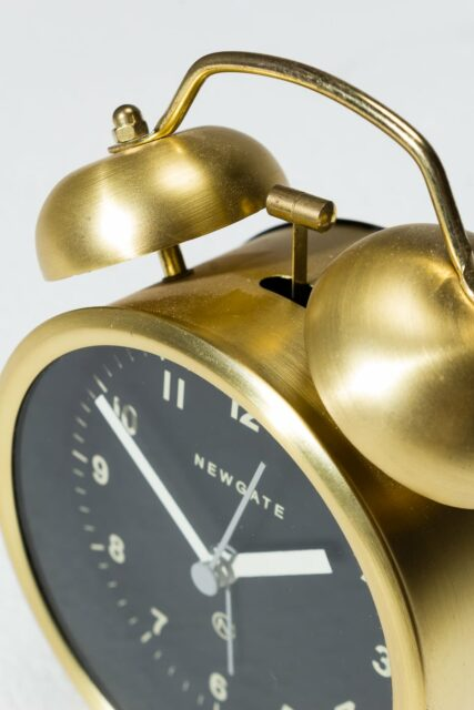 Alternate view 1 of Calypso Gold Alarm Clock