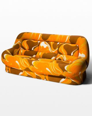 Front view of Taz Foam Sofa