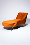 Alternate view thumbnail 4 of Racine Rust Chaise