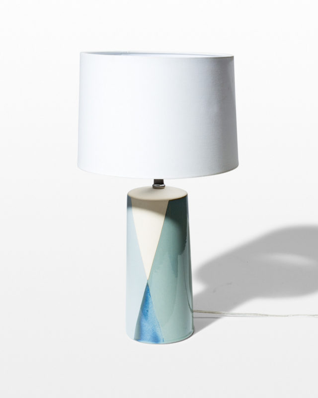 Front view of Bravo Ceramic Lamp