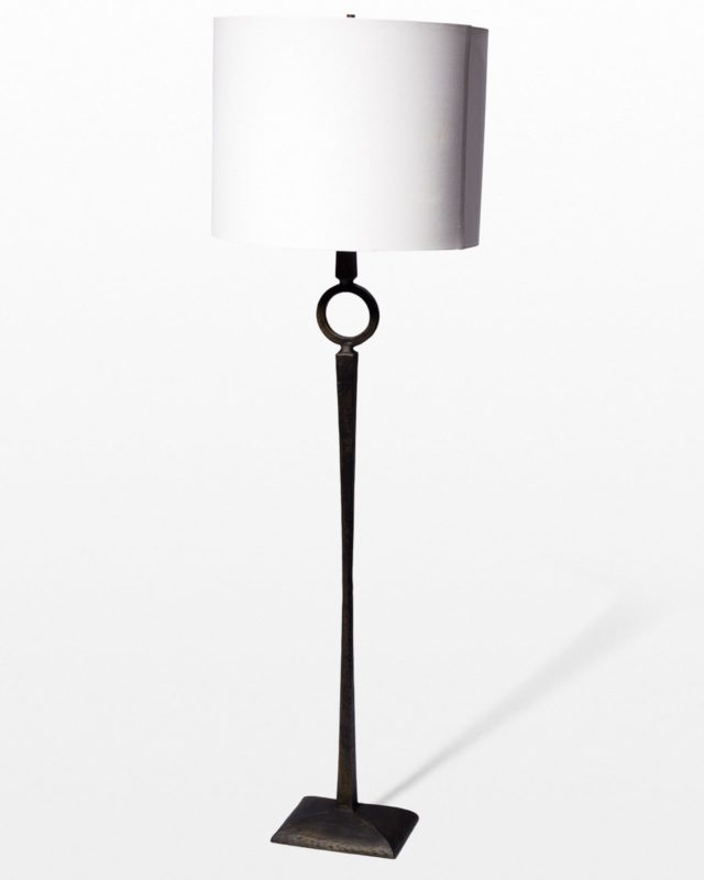 Front view of Derrick Floor Lamp