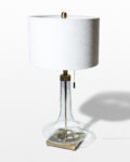 Front view thumbnail of Magda Glass Base Lamp