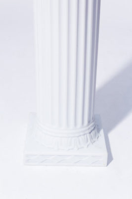 "Alternate view 3 of Adrian 84"" Ionic Column"