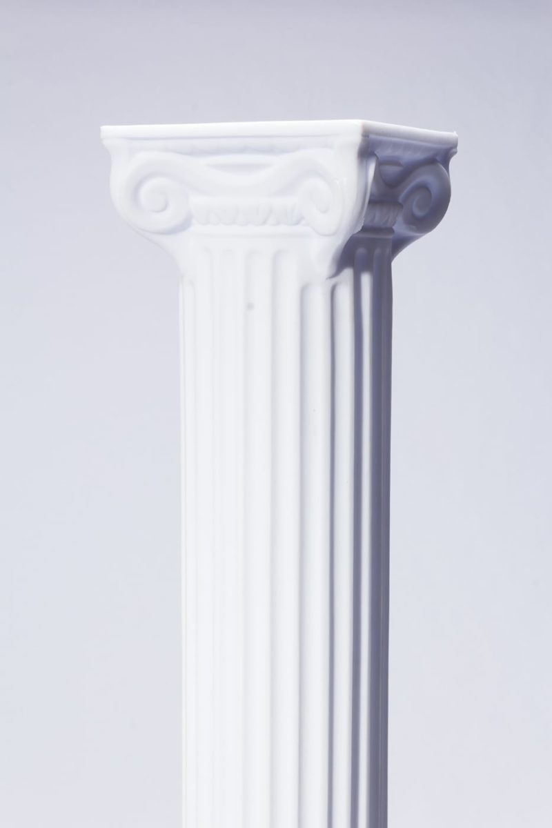 "Alternate view 1 of Adrian 84"" Ionic Column"