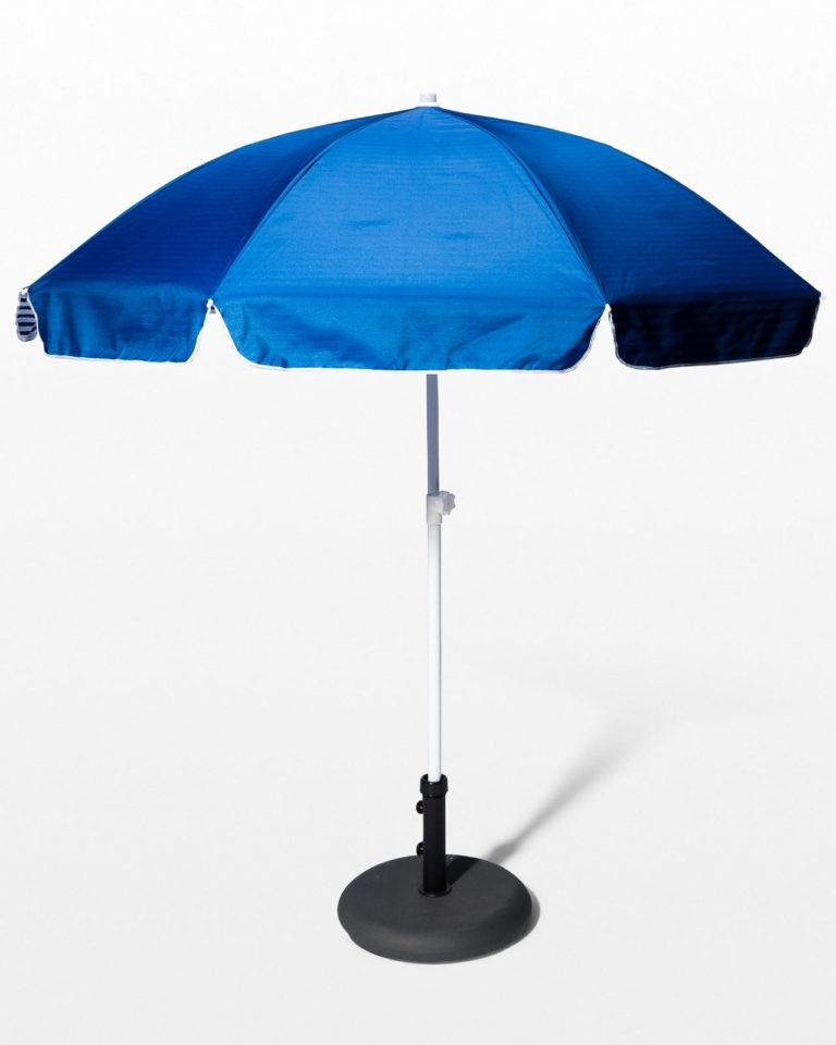 Front view of Darla Beach Umbrella