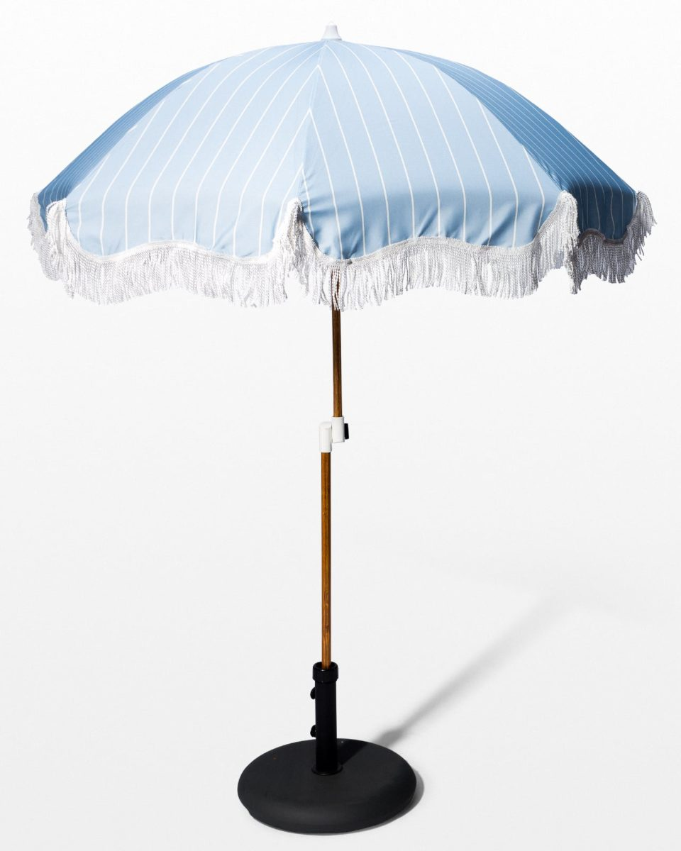 Front view of Kenzie Beach Umbrella