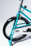 Alternate view thumbnail 1 of Quest Vintage Teal and Chrome Exercise Bike