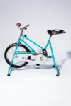 Alternate view thumbnail 4 of Quest Vintage Teal and Chrome Exercise Bike