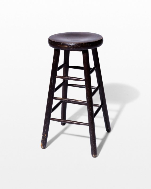 Front view of Boone Distressed Stool