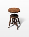 Front view thumbnail of Buller Distressed Stool