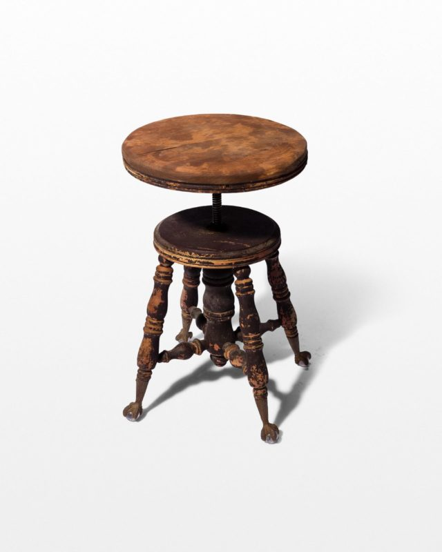 Front view of Buller Distressed Stool