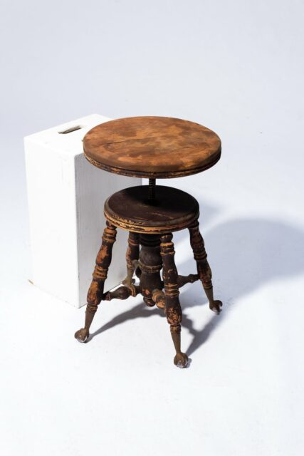 Alternate view 2 of Buller Distressed Stool