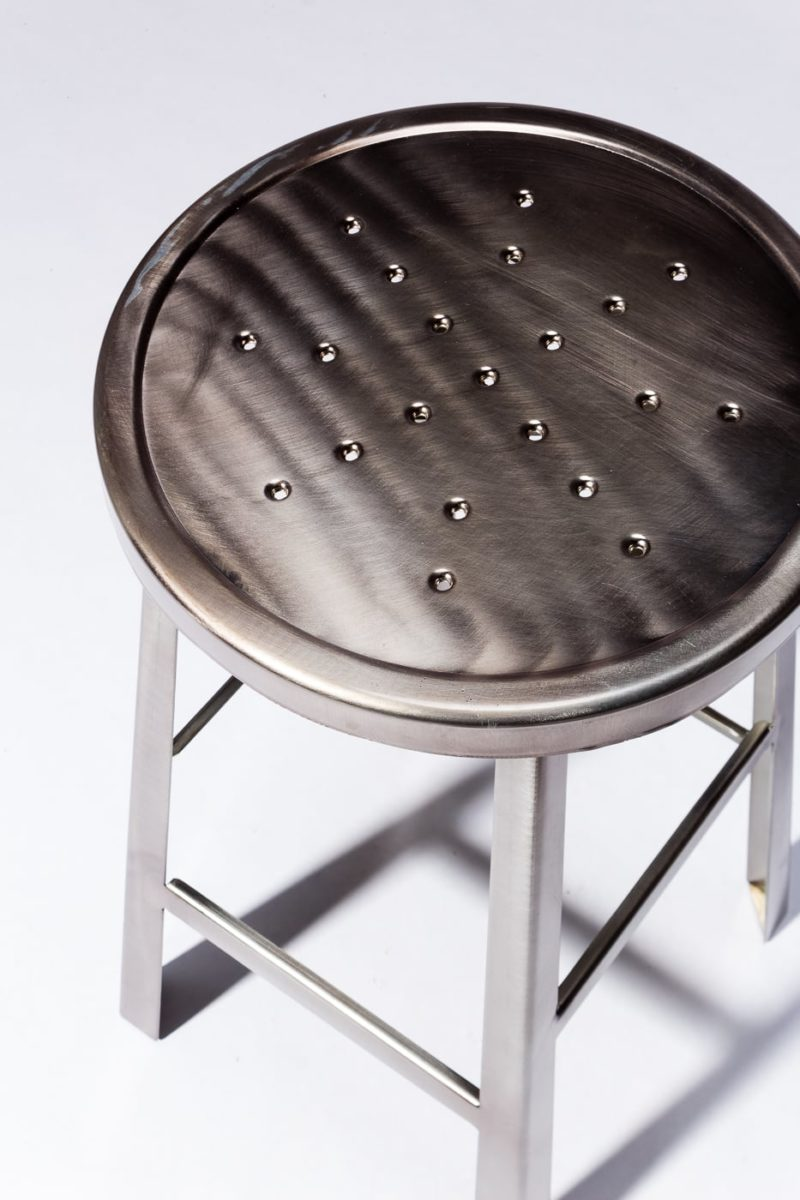 Alternate view 1 of Ode Steel Stool