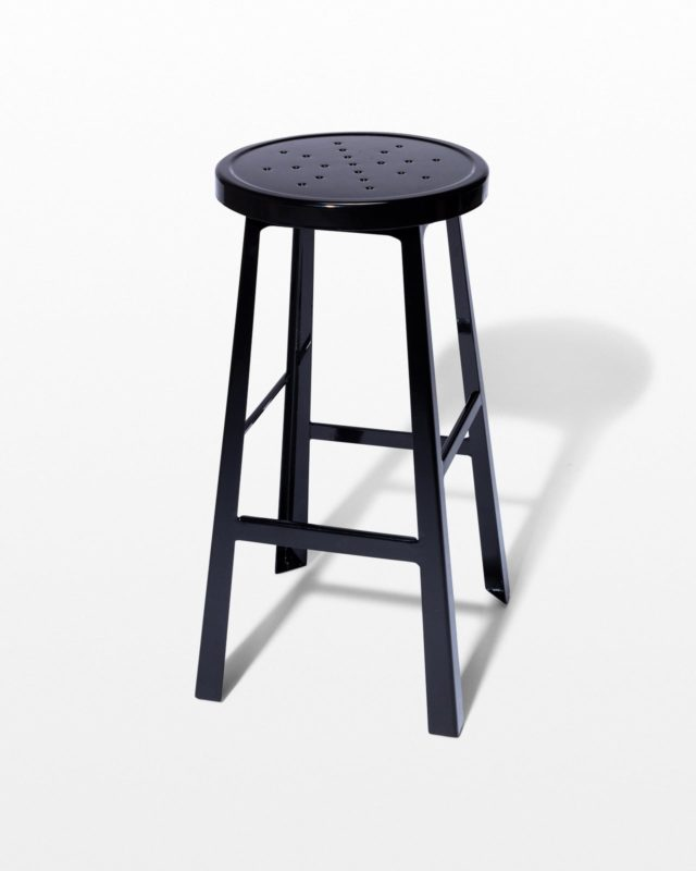Front view of Album Black Stool
