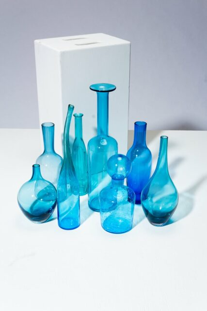 Alternate view 1 of Azul Glass Vessel Set