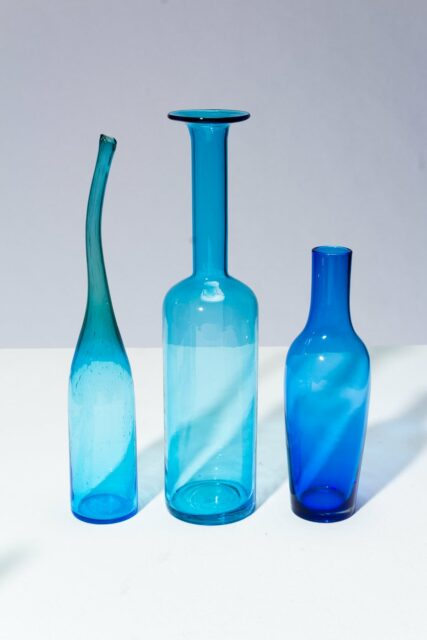 Alternate view 2 of Azul Glass Vessel Set