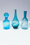 Alternate view thumbnail 3 of Azul Glass Vessel Set